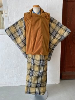 〈3歳男の子〉Codorait オリジナル着物 3B-c