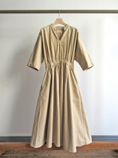 MEYAME(メヤメ) COTTON DRESS [WOMEN]
