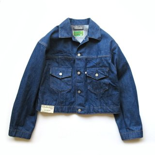 WESTOVERALLS(ウエストオーバーオールズ) 857B DENIM TRACKER JACKET -ONEWASH- [UNISEX]