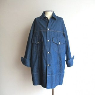 WESTOVERALLS(ウエストオーバーオールズ) 899B DENIM BIG TRACKER JACKET -ONEWASH- [UNISEX]