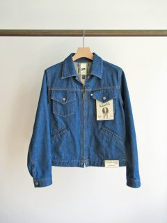 WESTOVERALLS(ウエストオーバーオールズ) 877Z DENIM TRACKER JACKET -ONEWASH- [UNISEX]