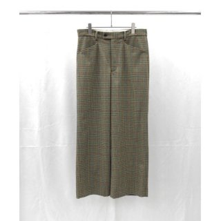 <img class='new_mark_img1' src='https://img.shop-pro.jp/img/new/icons20.gif' style='border:none;display:inline;margin:0px;padding:0px;width:auto;' />URU(ウル) WOOL CHECK WIDE PANTS