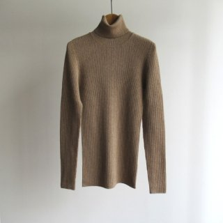 unknot(アンノット) TURTLE NECK RIB KNIT [WOMEN]