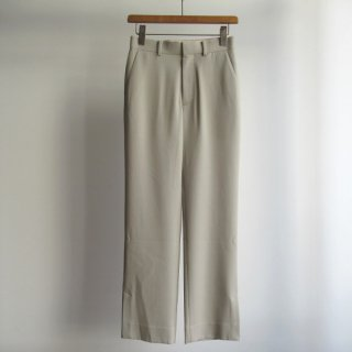 AURALEE(オーラリー) HARD TWIST WOOL DOBBY SLACKS [WOMEN]