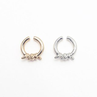 Soierie(ソワリー) ROPE OBJECT EAR CUFF [WOMEN]