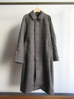 YOKE(ヨーク) REVERSIBLE KNIT BAL COLLAR COAT
