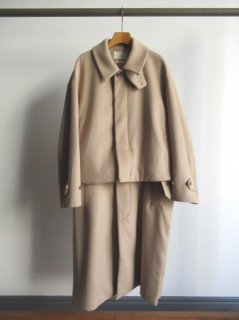 YOKE(ヨーク) 3WAY BAL COLLAR SHARE COAT