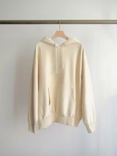unfil(アンフィル) VINTAGE COTTON-FLEECE HOODIE