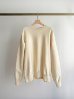 unfil(アンフィル) VINTAGE COTTON-FLEECE PULLOVER