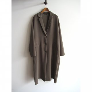 mizuiro-ind(ミズイロインド) TAILORED LONG WIDE COAT [WOMEN]