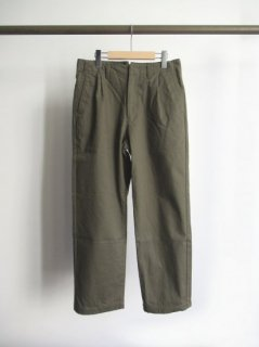 STILL BY HAND(スティルバイハンド) COTTON KERSEY PANTS