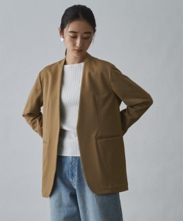 Audrey and John Wad(オードリーアンドジョンワッド) NO COLLAR JACKET [WOMEN]