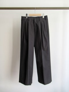 YOKE(ヨーク) 2TUCK WIDE-LEGGED SIDE TAPE TROUSERS