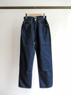 CIOTA(シオタ) INDIGO SUVIN COTTON 11,5oz HIGH WAIST DENIM [WOMEN]