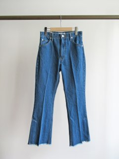 PHEENY(フィーニー) VINTAGE DENIM FLARED PANTS [WOMEN]