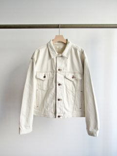 unfil(アンフィル) 12OZ COTTON DENIM JACKET