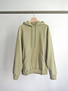 unfil(アンフィル) COTTON FRENCH TERRY HOODIE