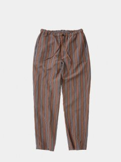STILL BY HAND(スティルバイハンド) CUPRA/LINEN STRIPE PANTS