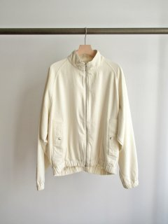 unfil(アンフィル) RAW SILK DENIM FULL ZIP JACKET