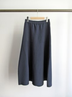 unfil(アンフィル) HIGH TWIST COTTON SMOOTH-KNIT SKIRT [WOMEN]