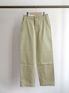 CIOTA(シオタ) SUVIN COTTON WEST-POINT CHINO PANTS [WOMEN]