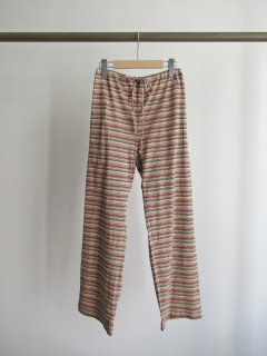 quitan(キタン) EASY PANT -MIXED STRIPE- [UNISEX]
