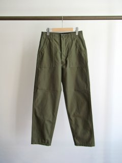 CIOTA(シオタ) SUVIN COTTON BACK SATIN BAKER PANTS [WOMEN]