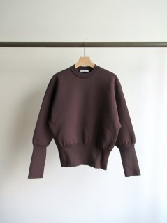 PHEENY(フィーニー) DOUBLE FACE CIRCLE KNIT [WOMEN]