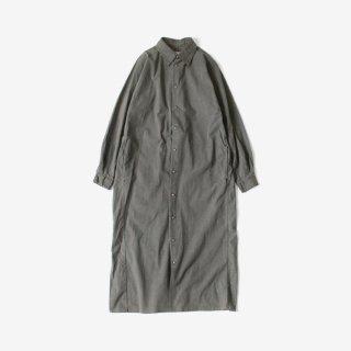 quitan(キタン) FLAT SHIRT -LONG- BLACK
