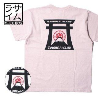 サムライジーンズ SAMURAI JEANS プリント Tシャツ SAMURAI CLUB SJCT19-101