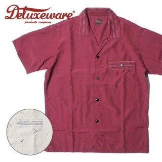 DELUXEWARE デラックスウエア レイルドット レーヨン 半袖 シャツ AL-02