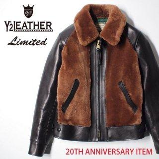 20周年記念モデル ワイツーレザー 1930s グリズリーモーターサイクルジャケット 熊ジャン Y2-10-SP  Y'2LEATHER