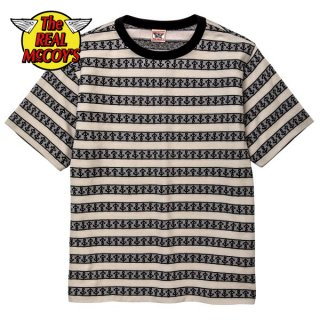 ザ リアルマッコイズ MILITARY JACQUARD TEE / ANCHOR 半袖 Tシャツ MC19014 THE REAL McCOY'S