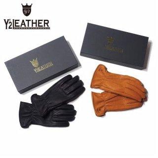 ワイツーレザー ディアスキン ショート グローブ 手袋 YG-01 Y'2 LEATHER
