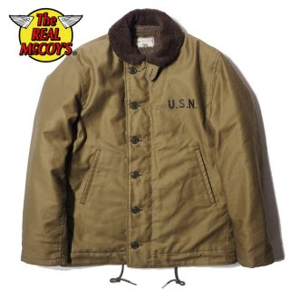 ザ リアルマッコイズ N-1 DECK JACKET KHAKI デッキジャケット MJ13111 THE REAL McCOY'S