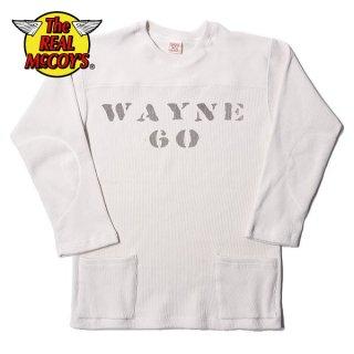 ザ リアルマッコイズ ミリタリー フットボール Tシャツ WAYNE MC19118 THE REAL McCOY'S