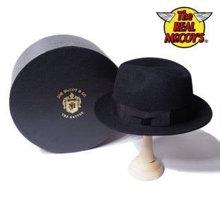 ザ リアルマッコイズ DOUBLE DIAMOND RABBIT FUR HAT ダブルダイアモンド ラビットファー ハット 帽子 MA19104 THE REAL McCOY'S