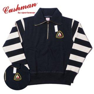 クッシュマン ハーフジップ タートルネック スウェット スエット 26175 CUSHMAN