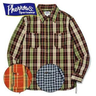 フェローズ ネルシャツ ヘビーウェイト フランネル チェック PHERROWS 19W-720WS