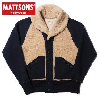 クッシュマン マトソンズ グリズリースタイル ショールカラー スウェット ジャケット 66512 MATTSONS CUSHMAN