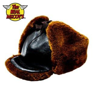 ザ リアルマッコイズ BUCO レーシングレザーヘルメット 帽子 WINTER RACING LEATHER HELMET BA19101 THE REAL McCOY'S