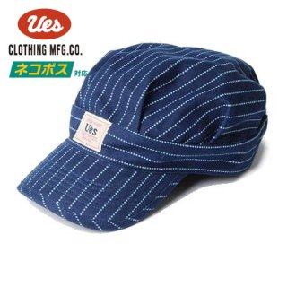 [ネコポス送料200円]ウエス ウォバッシュ ワークキャップ 帽子 82W-SP UES
