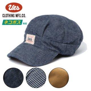 [ネコポス送料200円]ウエス ワークキャップ 帽子 82W UES
