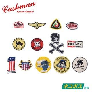 [ネコポス送料200円]クッシュマン オリジナル 刺繍ワッペン EMBROIDERY PATCH CUSHMAN  [1100円(税込)〜2200円(税込)]