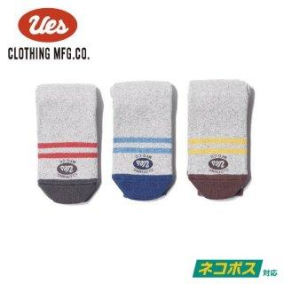[ネコポス送料200円]ウエス 杢ソックス 靴下 SX-2 UES