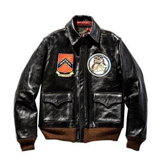 ザ リアルマッコイズ TYPE A-2 REDSILK / ZEMKES WOLFPACK フライトジャケット ミリタリー MJ20002 THE REAL McCOY'S