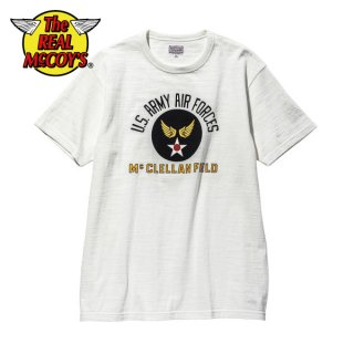ザ リアルマッコイズ ミリタリー Tシャツ AMERICAN ATHLETIC TEE / USAAF McCLELLAN FIELD MC20022 THE REAL McCOY'S