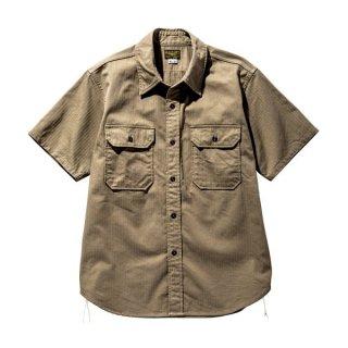ザ リアルマッコイズ 半袖シャツ M-38 KHAKI SHIRT S/S MS20005 THE REAL McCOY'S
