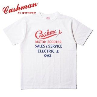 クッシュマン プリント Tシャツ ロゴ 半袖 PRINT TEE 26606 CUSHMAN
