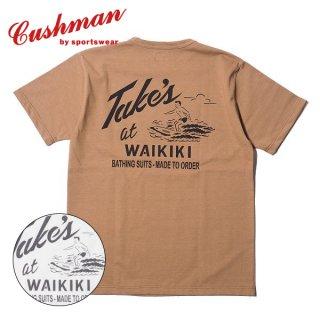 クッシュマン プリント Tシャツ 半袖 PRINT TEE TAKE'S 26608 CUSHMAN